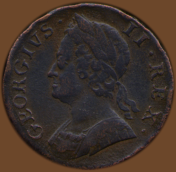 Regal British Copper Halfpence