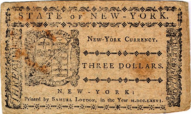 New York Currency